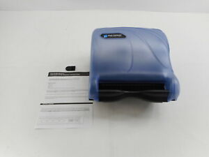 San Jamar Tear n dry Essence Oceans Touchless Towel Dispenser Arctic Blue