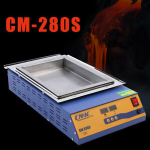 2kw Stainless Steel Melting Furnace Double Digital Display 21 2kg Molten Tin Pot