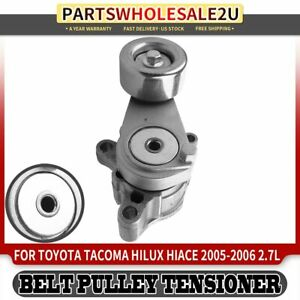 Belt Tensioner Pulley Assembly For Toyota Tacoma Hilux Hiace 2005 2006 L4 2 7l