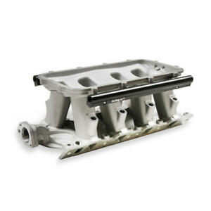 Holley Intake Manifold 300 274 Hi Ram Satin Cast Aluminum For Ford 289 302 Sbf