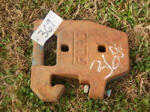 Ford Suitcase Weights smaller Style Six Total Tag 369