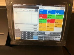 Casio Vr 100 Pos Cash Register Touch Screen Android Based With Drawer