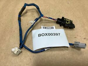 2009 Toyota Camry Hybrid Front Driver Side Door Key Wire Wiring Harness Oem