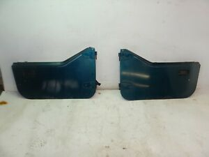 Jeep Wrangler Yj 87 95 Hard Half Doors Door Pair Dark Green Oem Free Shipping