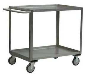 Jamco Xb348u500 16 Ga Stainless Steel Utility Cart 1200 Lb Capacity 54 l X