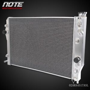 2 Row Aluminum Radiator For 98 99 Chevy Camaro Pontiac Firebird Trans Am 5 7l V8