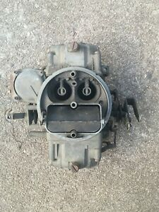 Holley List 3310 2 4 Barrel Carburetor 750 Cfm Complete