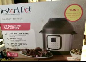 Instant Pot Air Fryer Epc Combo 6qt Electronic Pressure Cooker New Unopened