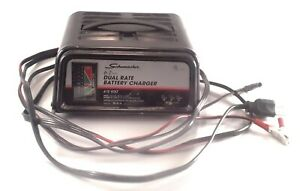 Schumacher Se 82 6 Manual Battery Charger 6 12 Volt 6 2 Amp Dual Rate