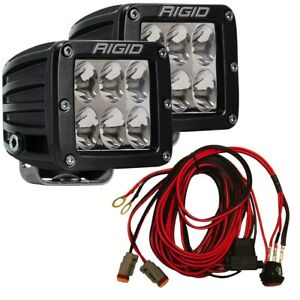 Rigid Industries D series Pro Driving Surface Mount Led Light Pods 502313