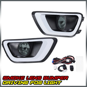 For 2015 2016 2017 Chevrolet Colorado Replacement Bumper Driving Fog Lights Pair