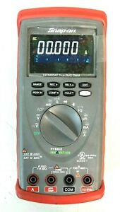 Snap on Tools Eedm604e True rms Dmm Hybrid Digital Multimeter