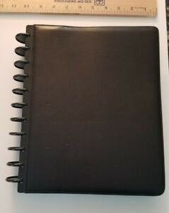 Levenger Circa Leather Foldover Notebook 11 Discs