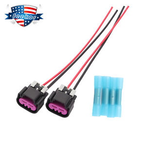 Electric Fan Switch Connector Harness Plug Pt2649 Fit For Gm Chevy Truck 05 12
