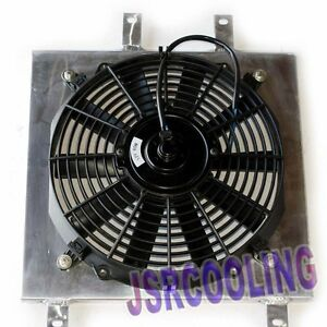 Radiator Fan Shroud For Honda Civic And Civic Del Sol 1992 2000 New Comewith Fan