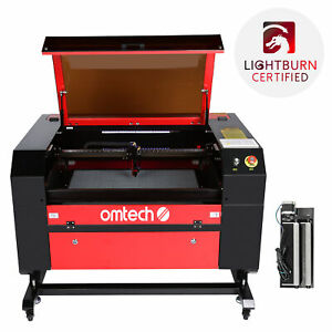 2021 Co2 Laser Engraver Cutter 60w 28 x20 With Rotation Axis Autofocus Ruida