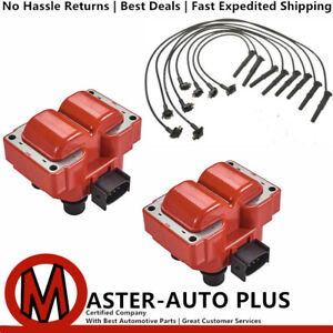 Racing High Performance Ignition Coil Wireset For 89 03 Ford Escortst 2 0l L4