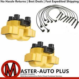 High Racing Performance Ignition Coil Wireset For 89 03 Ford Escort 2 0l L4
