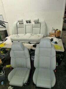 2013 2016 Bmw F10 M5 Luxury Interior Front Rear Seats Silverstone Seat Oem