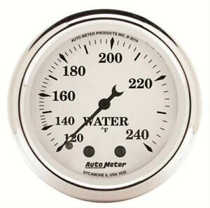 Autometer 1632 Old Tyme White Water Temperature Gauge 2 1 16 In