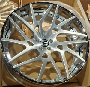 24 Forgiato Maglia Twist Ecl Concaved 3 Piece Wheels Mercedes Amg Gt 4dr Only