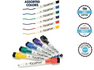 Whiteboard Markers Quartet Dry Erase Markers Fine Point Classic Colors 6 Pack Us