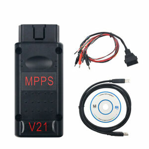 Mpps V21 Main Tricore Multiboot Ecu Chip Turnning With Breakout Tricore Cable
