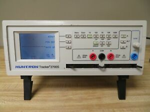 Huntron Tracker 2700s Component Circuit Analyzer Circuit Diagnostic Ob18