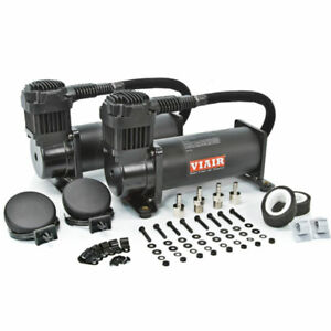 Air Lift 200 Psi Dual Compressors Viair 444c Black 23444b