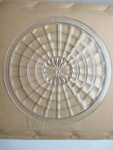 Vintage More Lite Glass Head Lamp Lens 9 1 2 Inch May 23 1917