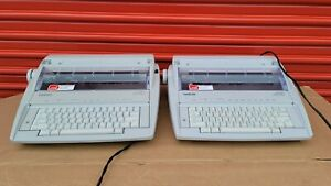 Lot Of 2 Brothers Model Gx 6750 Correcting Electric Typewriter