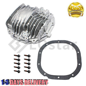 8 8 Finned Rear Axle Cover Kit W Bolts Valve Vent For 85 14 Ford Mustang
