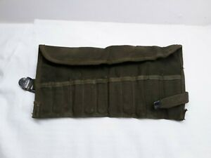 Vintage Us Army Surplus Ignition Wrench Set W Roll Pouch Only