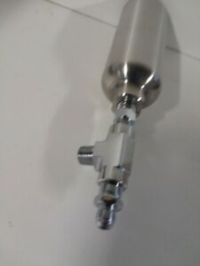 Lowrider Hydraulics Accumulator Stainless Steel 600psi With Fittings