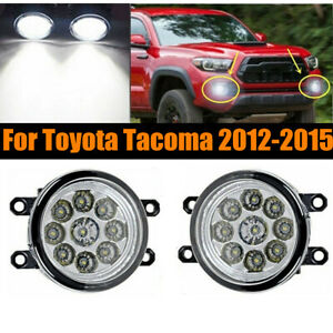 Pair Of 9 Led 36w Fog Light Driving Lamp For Toyota Tacoma 2012 2015 Left right
