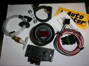 Autometer 6359 Sport Comp 2 1 16 Digital Boost Vacuum Gauge Kit 30 Psi Nice