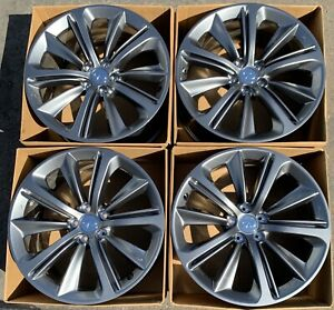 Infiniti Red Sport 20 Q60 Q50 Factory Oem Rims Wheels 20x9 Infinity