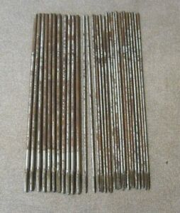 Card Usa Ns Hs1 Flute Threading Tap Bits Machinist Metalworking Tools 31 Total