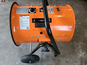 Dayton Electric Salamander Jobsite Heater Model 1rku2c 30kw 480v 3ph