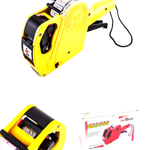8 Digits Price Numerical Tag Gun Label Maker Mx5500 Eos With Sticker Labels