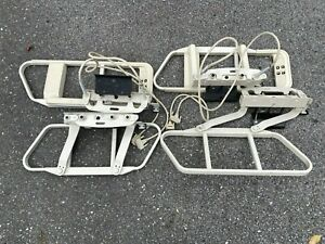 Hill rom Centra Hospital Bed Set Of 4 Side Arm Rail 1060 41b11 a