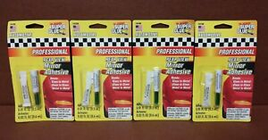 4 X Super Glue 2 Piece Kit 14104 Professional Rearview Mirror Permanent Adhesive