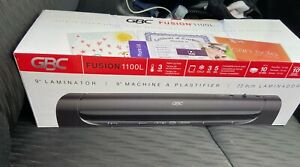 Swingline Gbc Fusion 3000l 12 Laminator Black With Lamination Supplies Included