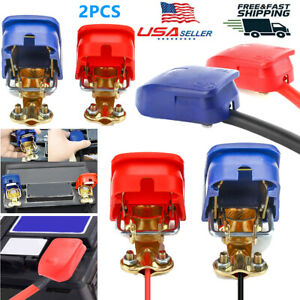 12v Car Battery Quick Release Connector Disconnect Terminal Jump Start 45 200ah