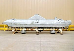 Mo 3975 Stainless Steel Fluid Bed Dryer 31 1 2 L X 54 W X 115 T Cip Spray