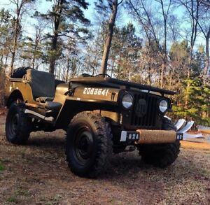 Willys Mc M38 Md M38a1 Military Army Jeep Top Bows