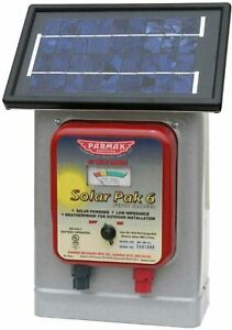 Parmakdeluxe Field Solar Pak 6 Fence Charger