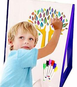 Dry Erase Board For Kids Magnetic Whiteboard With Dry Erase Markers Portable