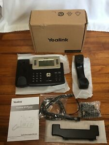 New open Box Yealink Sip t27g Phone 6 Lines Ip Phone Hd Business Desktop