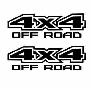 4x4 Off Road Stickers 2x Decal Ford Gmc Chevy Ram 1500 2500 F150 F250